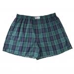 กางเกงบ๊อกเซอร์ลายสก๊อตสีเขียว