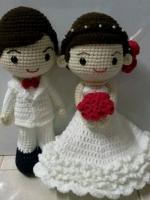 ตุ๊กตาแต่งงานขนาด 12 นิ้ว : สั่งทำมีพร้อมส่ง