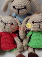 "candy- rabbit 12"" (แยกตัวละ ระบุสีด้วยค่ะ)"