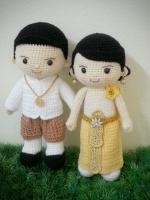 ตุ๊กตาแต่งคนงาน: สั่งทำมีพร้อมส่ง 12 นิ้ว