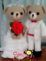 น้องหมีแต่งงาน 17 นิ้ว
