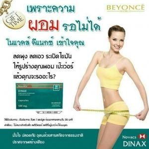 Novacs Dinax Complement Alimentaire โนแวคส์ ดีแนกซ์ ผลิตภัณฑ์ควบคุมน้ำหนัก ได้ผลรวดเร็ว