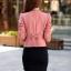 (Pre Order) เสื้อแจ็คเก็ตผู้หญิง Bbolero chaquetas mujer คาร์ดิแกนหญิงสั้นเสื้อแจ็คเก็ต Abrigos มี 4 ดำ,ขาว,ชมพูเข้ม,ชมพูอ่อน,ไซส์ M,L,XL,XXL,3XL thumbnail 12