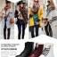 (Pre Order) ฤดูใบไม้ร่วงและฤดูหนาวสไตล์อังกฤษรองเท้าผู้หญิงรองเท้าส้นแบนหญิงใส่ลุยหิมะได้พื้นรองเท้าหนา มี 3 สี ขาว,แดง,ดำ ไซส์ 35,36,37,38,39,40 thumbnail 12