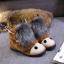 (Pre Order) รองเท้า Botas femininas มาใหม่รองเท้าผู้หญิง รองเท้าฤดูหนาวที่อบอุ่นรองเท้าหิมะ มี 3 สี ดำ,เทา,น้ำตาล,ไซส์ 35,36,37,38,39,40 thumbnail 3