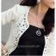(Pre Order) สไตล์แฟชั่นผู้หญิงแจ็คเก็ตสูทสีขาว Rhinestone Rivet พัฟแขนยาวบางเสื้อสั้นสำหรับฤดูใบไม้ร่วงฤดูใบไม้ผลิ มี 2 ดำ,ขาว ไซส์S,M,L,XL thumbnail 4
