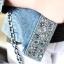 (Pre Order) เสื้อยีนส์แขนยาว แบบเก๋มาก Rhinestone ซิปพังก์หญิงเสื้อแจ็คเก็ตผู้หญิง มีสีเดียว ไซส์ S,M,L thumbnail 11