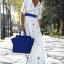 (Pre Order) ผู้หญิงเซ็กซี่ฤดูร้อน Boho ยาว Maxi ชุดเดรสชุดบีชชีฟอง มีสีเดียว ขนาดสินค้า S,M,L,XL thumbnail 3