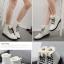 (Pre Order) ฤดูใบไม้ร่วงและฤดูหนาวสไตล์อังกฤษรองเท้าผู้หญิงรองเท้าส้นแบนหญิงใส่ลุยหิมะได้พื้นรองเท้าหนา มี 3 สี ขาว,แดง,ดำ ไซส์ 35,36,37,38,39,40 thumbnail 11
