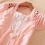 (Pre Order) เสื้อคุมเกาหลีแขนสั้นเนื้อผ้าฝ้าย มี 7 สี ชมพู,ดำ,เหลือง,ฟ้า,ขาว,ส้ม ขนาด - Free Size thumbnail 10