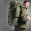 เป้ Backpack 65 ลิตร - สีเขียว thumbnail 1