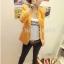 (Pre Order) ผู้หญิงเลดี้แฟชั่นปกโลหะเสื้อแจ็คเก็ตสูทมี 5 สีฟ้า,สีขาว,สีเหลือง,สีแดง,สีดำ,ไซส์ S,M thumbnail 6