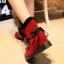 (Pre Order) รองเท้าบูทฤดูหนาวสั้นบุข้นหนา Botas ขนสัตว์อบอุ่นหิมะรองเท้าที่มีคุณภาพดี มี 2 สี แดง,ดำ ไซส์ 36,37,38,39,40 thumbnail 3