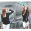 (Pre Order) มาใหม่ล่าสุดเสื้อผู้หญิงแขนยาวเสื้อสูทเซ็กซี่ลูกไม้โครเชต์แจ็คเก็ตขนาดเล็ก Tops สำนักงานสวมใส่สบาย มี 2 สี ดำ,ขาว ไซส์ M,L,XL thumbnail 6