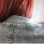 (Pre Order) เสื้อยีนส์แขนยาว แบบเก๋มาก Rhinestone ซิปพังก์หญิงเสื้อแจ็คเก็ตผู้หญิง มีสีเดียว ไซส์ S,M,L thumbnail 9