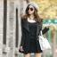(Pre Order) เสื้อคุมผู้หญิงมาใหม่ซิปหน้าแฟชั่นผสมขนสัตว์เสื้อยาว มี 2 สี ดำ,เทา ไซส์ S,M,L,XL,XXL thumbnail 5