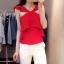 (Pre Order) ชุดเซ็ทขนาดของสินค้า - S,M ความยาว เสื้อผ้า 45cm หน้าอก88cm กางเกง (S, M): S เอว 68cm ,M เอว 70cm thumbnail 2