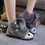 (Pre Order) รองเท้า Botas femininas มาใหม่รองเท้าผู้หญิง รองเท้าฤดูหนาวที่อบอุ่นรองเท้าหิมะ มี 3 สี ดำ,เทา,น้ำตาล,ไซส์ 35,36,37,38,39,40 thumbnail 1