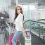 (Pre Order) มาใหม่ล่าสุดเสื้อผู้หญิงแขนยาวเสื้อสูทเซ็กซี่ลูกไม้โครเชต์แจ็คเก็ตขนาดเล็ก Tops สำนักงานสวมใส่สบาย มี 2 สี ดำ,ขาว ไซส์ M,L,XL thumbnail 9