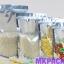 ถุงเมทัลไลท์ หน้าใส หลังฟอยล์ ซิปล็อค ตั้งได้ ขนาด 12*20+4 ซม. thumbnail 6