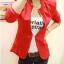 (Pre Order) ผู้หญิงเลดี้แฟชั่นปกโลหะเสื้อแจ็คเก็ตสูทมี 5 สีฟ้า,สีขาว,สีเหลือง,สีแดง,สีดำ,ไซส์ S,M thumbnail 7