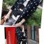 (Pre Order) เสื้อแจ็คเก็ตสั้นสบาย ๆ ซิปแขนเต็มรูปแบบ ลายดาวน่ารักมาก มี 2 สี ดำ,เทา ไซส์ M,L,XL thumbnail 5