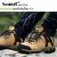 รองเท้ากันน้ำรุ่น เดินป่า Elite - สีน้ำตาล-ทราย thumbnail 1