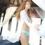 (Pre Order) เสื้อคุมขนาดสินค้า -มีขนาดเดียว วัสดุ: ชีฟอง / ลูกไม้ สี: สีขาว thumbnail 7