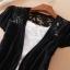 (Pre Order) เสื้อคุมเกาหลีแขนสั้นเนื้อผ้าฝ้าย มี 7 สี ชมพู,ดำ,เหลือง,ฟ้า,ขาว,ส้ม ขนาด - Free Size thumbnail 9