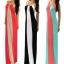 (Pre Order) ชุดเดรสยาวฤดูใบไม้ผลิฤดูร้อนลายยาว ชุด Maxi Dress มี 3 สีให้เลือก ขนาดไซส์ S,M,L thumbnail 1