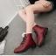 (Pre Order) ฤดูใบไม้ร่วงและฤดูหนาวสไตล์อังกฤษรองเท้าผู้หญิงรองเท้าส้นแบนหญิงใส่ลุยหิมะได้พื้นรองเท้าหนา มี 3 สี ขาว,แดง,ดำ ไซส์ 35,36,37,38,39,40 thumbnail 21