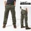 กางเกงคาร์โก้ Cargo Pants RW02 - สีเขียว thumbnail 1
