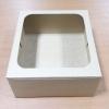 กล่องเค้ก กล่องเค้ก 2 ปอนด์ กล่องขนม กล่องเบเกอรี่ กล่องคัพเค้ก ลายคราฟท์น้ำตาล 24.5x24.5x10ซม. 20ใบ/แพ็ค