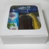 กล่องสแน็ค กล่องอาหารว่าง ลายสีขาว