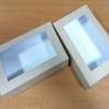 กล่องบราวนี่ กล่องชิฟฟ่อน กล่องช๊อกโกแลต กล่องพาย กล่องทาร์ตไข่ กล่องขนมเปี๊ยะ ลายคราฟท์ กว้าง18.5 x ยาว 11.5 x สูง 5.0 ซม.