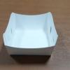 ถาดใส่ขนม/ถาดขนมปัง/ถาดชิม/ถาดอาหารฟู้ดเกรด สีขาว กว้าง 10.5 x ยาว 9.2 x สูง 4.2 ซม.