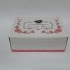 กล่องสแน็ค กล่องอาหารว่าง ลาย Snack box ชมพู ขนาด 15.5 x 11.5 x 6.0 ซม.