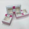 กล่องบราวนี่ 2 - 3 ชิ้น กล่องทรงแบน กล่องคุ๊กกี้ กล่องช็อคโกแลต กล่องขนมฟู้ดเกรด กว้าง 8.0 x ยาว 15.0 x สูง 3.0 ซม..