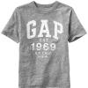 1217 Gap Kids Arch Logo T-Shirt Top Boys - Grey ขนาด 10,12 ปี