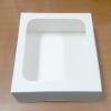 กล่องเค้ก กล่องเค้ก 3 ปอนด์ กล่องเค้ก กล่องขนม กล่องเบเกอรี่ กล่องคัพเค้ก สีขาว 26.5x26.5x10ซม.20ใบ/แพ็ค