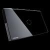 GRATIA switch Standard 2 x 4 สีดำ 1 ปุ่ม ใช้งานผ่านรีโมท
