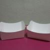 ถาดใส่ขนม/ถาดขนมปัง/ถาดชิม/ถาดอาหารฟู้ดเกรด สีขาว กว้าง 8.0 x ยาว 7.0 x สูง 3.5 ซม.