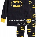 1173 H&M Jersey Pajamas - Black ขนาด 4-6 ปี
