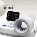 เครื่องวัดความดันแขนสอด Omron HBP-9020 (Made in Japan) พร้อมโต๊ะตั้งและกระดาษพิมพ์ เหมาะกับโรงพยาบาล จัดส่งทั่วประเทศ