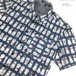 เสื้อเชิ้ตแขนสั้น ชาย NANAPA Shirts S-024