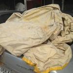 Review : ผ้าคลุมรถ TRI-GUARD สีเหลือง ใช้งานตากแดดหนักมา4ปีเต็ม...!!!