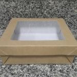 กล่องอาหารมีฝาปิด Size 17 ขนาด 17.9x17.9x6ซม.ราคา 240 บาท (20ใบ)