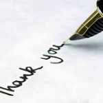 การขอบคุณ