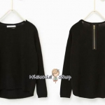 1185 Zara Girls Knitwear - Navy Blue ขนาด 9-10 ปี