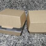 กล่องแฮมเบอร์เกอร์Size M 9.5x9.8x6.8 ซม./ 230 บาท( 50 ใบ)